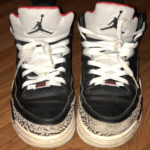 super popular c7c3d 1429a Jordan Other - Nike Jordan Son of Mars Low Black Cement